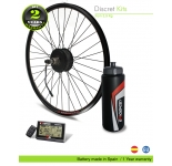KIT ELECTRICO BICICLETA M15 EFF ULTRALIGHT 400W HSS  36V 14.0AH (SANYO 3C) TRASERO. OFF ROAD